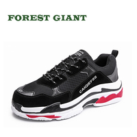 FOREST GIANT Summer Lovers Fashion Casual Shoes Breathable Male Mesh Lace Up Adult Footwear Men Sneakers Zapatos Hombre 1088
