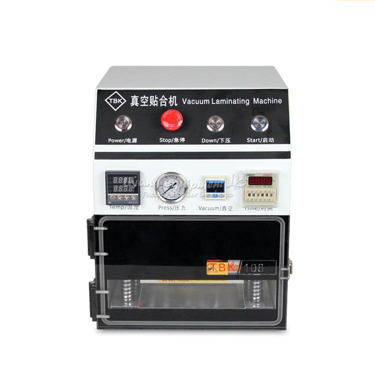 Vacuum OCA Laminating Machine LY 838 for Max 7 inch LCD Refurb semi auto lcd repair machine ly 948v 3 oca pack c for 7 inch free tax to europe