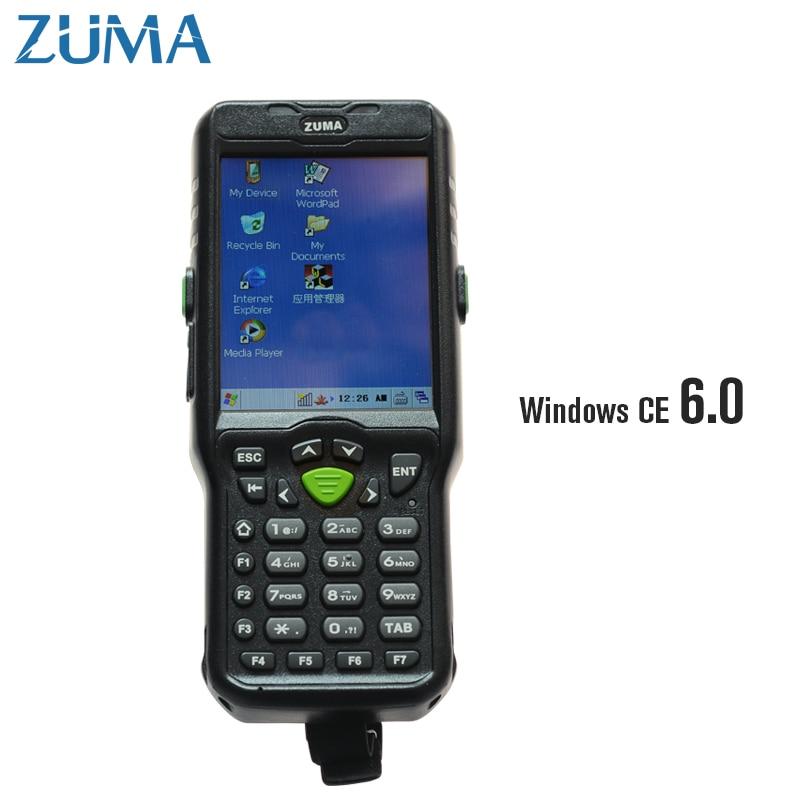 2-мерного + OS Оконные рамы CE 6.0 + WiFi + Bluetooth + 512 оперативной памяти мобильных терминалов сбора данных инвентаризации логистики КПК 8200
