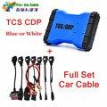 2015.1 R1 TCS CDP Pro plus с Bluetooth + Полный комплект 8 автомобилей кабели авто диагностические инструменты