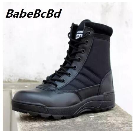 2018 新軍事男性のための戦闘ボット歩兵戦術的なブーツ askeri ボット軍ボット軍の靴