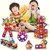 92pcs Lot Mini Magic Magnetic Blocks Set Children Assemble Building Robot Brick Juguetes DIY 3D Educational