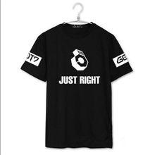 Got7 Kpop camiseta JB Jr marca youngjae Bambam Jackson unisex nueva ropa  justo álbum camiseta Got7 e5c85b3f01c