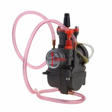 GOOFIT 28mm PWK28 Carb Racing Motorcycle Carburetor with CNC part For motorcycle dirt bike ATV Quads N090-662