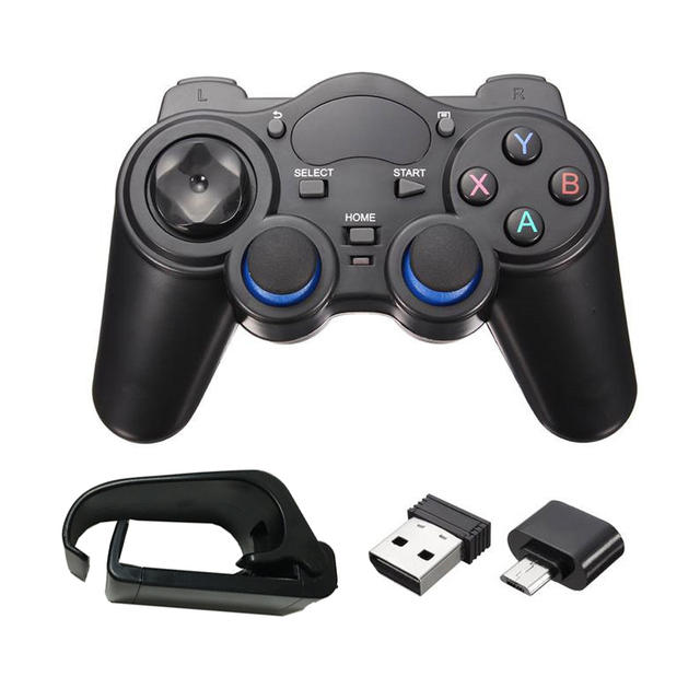 2,4G беспроводной джойстик смартфон геймпад OTG игровой контроллер для ТВ коробка PC GPD игровой контроллер пульт дистанционного управления для Xiaomi Android