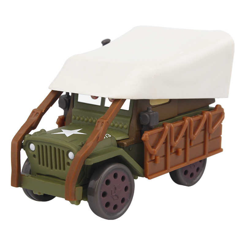 Disney Pixar Cars 2 Lightning McQueen Mater Sarge литая металлическая игрушка, модель автомобиля Jackson Storm подарок на день рождения игрушки для детей мальчиков