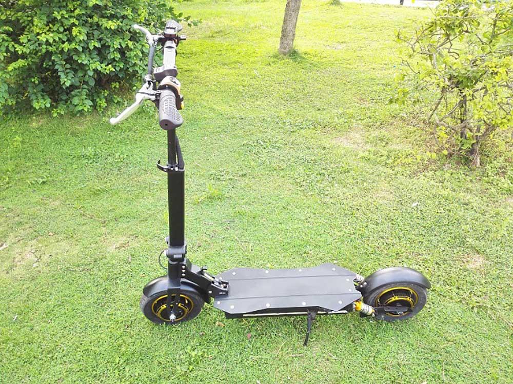Stand up 1000 W 2000 W double puissance du moteur scooter Citycoco Scooter Électrique avec Batterie Amovible et Forte En Plastique Pied Stand - 2