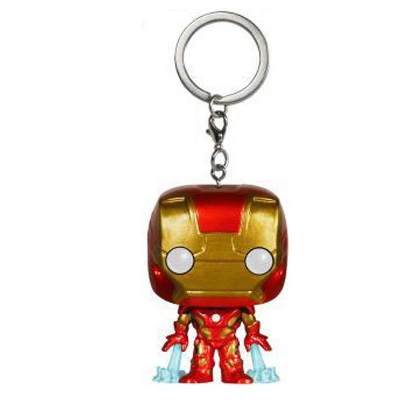 Người sắt Móc Khóa Marvel Hình Hành Động Móc Chìa Khóa Avengers Vô Cực Endgame Mô Hình Chìa khóa