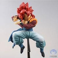 21 см DragonBall Драконий жемчуг GT Супер Саян 4 Сон Гоку фигурку игрушки коллекция кукла Рождество подарок