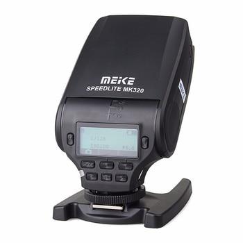 MEIKE MK-320 TTL flash Speedlite for Canon Nikon Fujifilm Olympus Panasonic Sony A7 A7R A7S A7 II A77 II A6000 NEX-6 A58 A99 RX1 meike mk 300 mk300 mk 300s lcd i ttl ttl speedlite flash light for sony