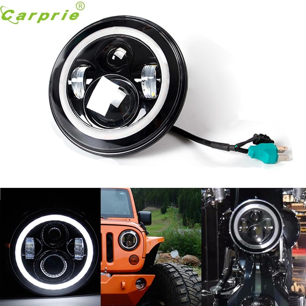 ФОТО Tiptop New Unique design 7 Inch Motorcycle Projector Daymaker Hi/Lo LED Light Bulb Headlight High Quality NOV28