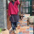 Original Nuevo Chino Mejorado Xie Jin Solapa Retro Escudo con la Chaqueta Delgada de Algodón