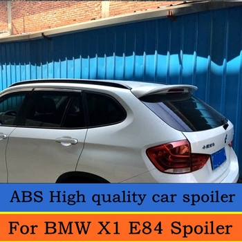 עבור BMW X1 E84 2011 2012 2013 2014 2015 אחורי ספוילר ABS חומר אחורי גג Trunk ספוילר עבור X1 E84 פריימר צבע