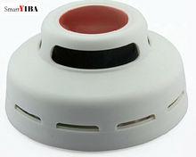 SmartYIBA 50pcs/lot Independent Smoke Sensor Alarm Kits Fire/Smoke Detector Fire Alarm Sensor For Home Safety Garden Security