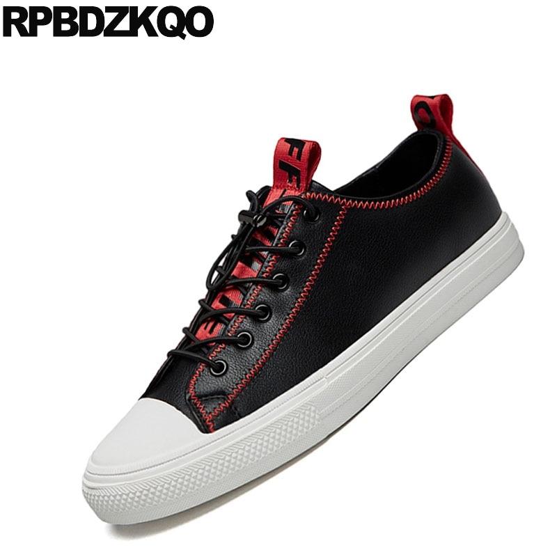 À Calçado Últimas Água Skate D' Lace Novo Sapatilhas branco Moda Sapatos Da Up Conforto Preto 2018 Designer De Homens Prova Black Branco Apartamentos Casual UOw7q