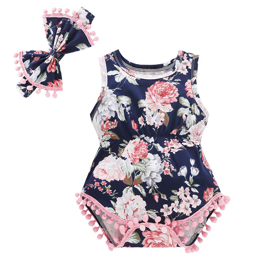 2d2ce285e96 2018 Brand New Newborn Infant Kids Baby Girls Boys Autumn Causal Bodysuits  Ruffles Long Sleeve Solid Warm Jumpsuits Outfit 0-24M