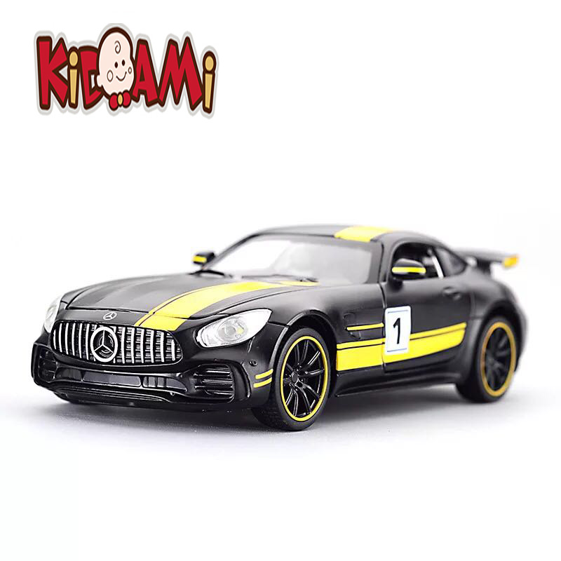KIDAMI 1:32 Alloy MINIAUTO Ben GT&G65 Pull Back Diecast Car Model With Sound Light Birthday Gift Toys For Children Hotwheels