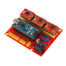 CNC Shield V4 Expansion Board Set A4988 With USB Cable For Arduino 3D Printer Cheap!