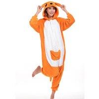 Unisex Adults Kangaroo Cartoon Costume Pajama Halloween Christmas Onesies Cosplay Teenagers Famous Cartoon Lounge Wear