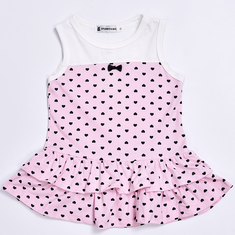 d5c7ca96f9085 2018 Summer Style baby girl clothes lovely dress with small heart+short  cardigan 2pcs/suit Newborn baby girl clothing set