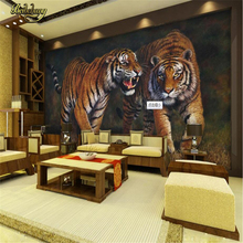 beibehang Custom 3D Photo wall papers home decor papel de parede 3D tiger papel mural wallpaper for living Room Home Decoration custom 3d photo wallpaper papel de parede vintage wood grain wall mural world wall paper for living room home decor