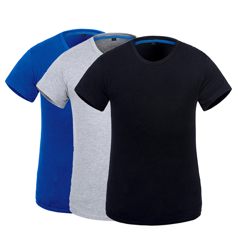 NEW arrival mens worker T-shirt working shirt with short sleeves ice cotton fabric cooling in summer grey black blue недорго, оригинальная цена