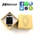 Original dz09 bluetooth smart watch sim/tf tarjeta para ios android teléfonos con cámara facebook podómetro hombres mujeres reloj deportivo