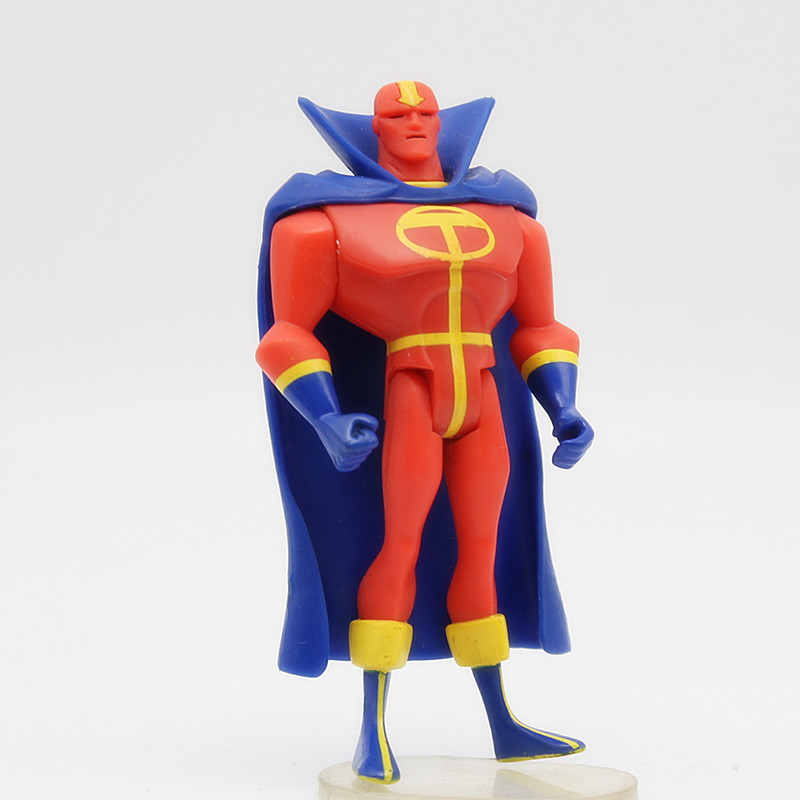JUSTICE LEAGUE UNLIMITED Avengers DC Universe RED TORNADO SuperHeros Action Figures Toys