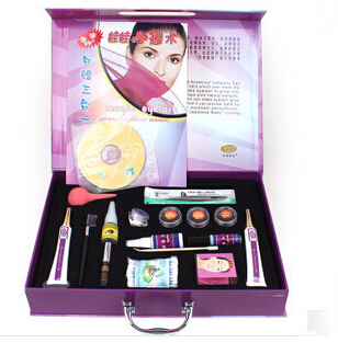 ФОТО Newest 16PCSEyelash perm kit For Eyelashes Perming Curling Up To 3 Months Eye Lashes Permanent Lotion Solution Full Kit Set