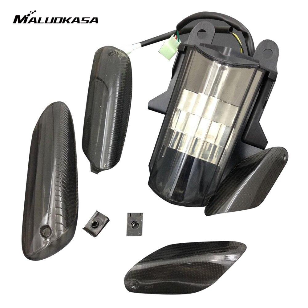 MALUOKASA LED Tail Light Rear font b Lamp b font for 2005 2006 2007 2008 APRILIA