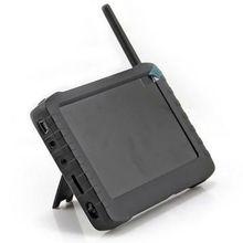 1,2 ГГц 2,4 ГГц 5,8 Портативный Беспроводной приемник с диагональю 5 дюймов FPV видео приемник ЖК-дисплей монитор Поддержка флеш-карты памяти TF 32 ГБ