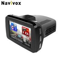 Navivox Car DVR Combo 3 In 1 DVR Radar Detector And GPS Informer GPS Receiver Only