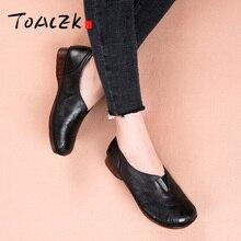 ลำลองแบนรองเท้าผู้หญิงรองเท้าส้นสูง retouch สบายหนังลื่นรองเท้าเดี่ยว,retro