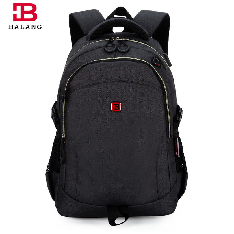 ФОТО BALANG College School Bags for Girls boys Waterproof Lightweight Multifunctional High Quality Laptop Backpack for Teenage