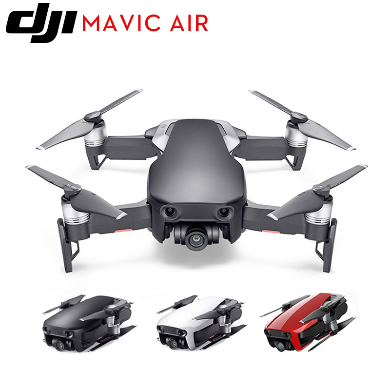 DJI Mavic Air/Mavic Air Fly More Combo 4K HD Camera Folding FPV mini Drone Professional Quadcopter 21Mins Flight Time 4km Remote