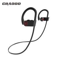 CBAOOO Bluetooth Headphone Sport Wireless Earphone Bass Blutooth Headset Stereo IPX4 Waterproof With Mic For Phone