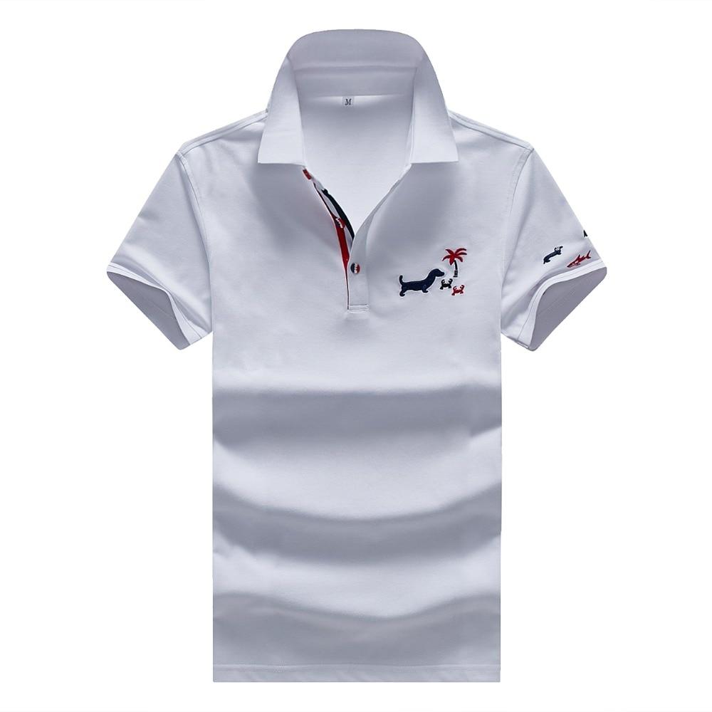 2019 Hot sale new short sleeve summer polo shirt men polos para hombre polos brand camisa polo quick dry plus size XXXL solid