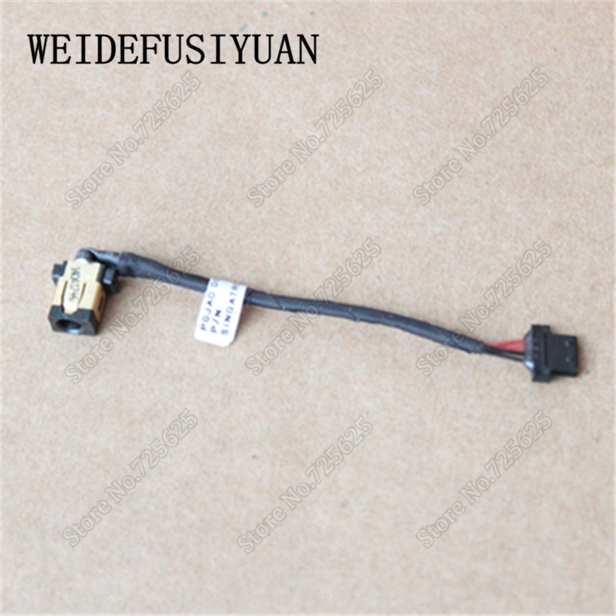 AC DC Power Jack plug in charging port Socket Connector Harness Cable for Acer Aspire Switch 10 SW5-011 SW5-012 10x for asus x52e x53j x53s x54 x54h laptop ac dc power jack port socket connector plug