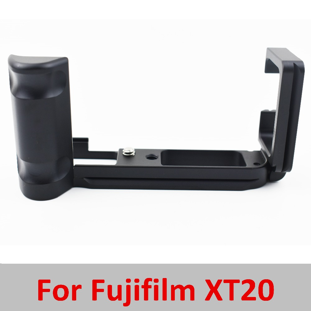 Pro Vertical L Type Bracket Tripod Quick Release Plate Base Grip Handle For Fujifilm for Fuji XT20 X T20 XT10 Digital Camera