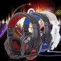 Новый 3.5 мм Стерео Объемного Gaming Headset Повязка Наушники с Микрофоном для ПК Оптовой