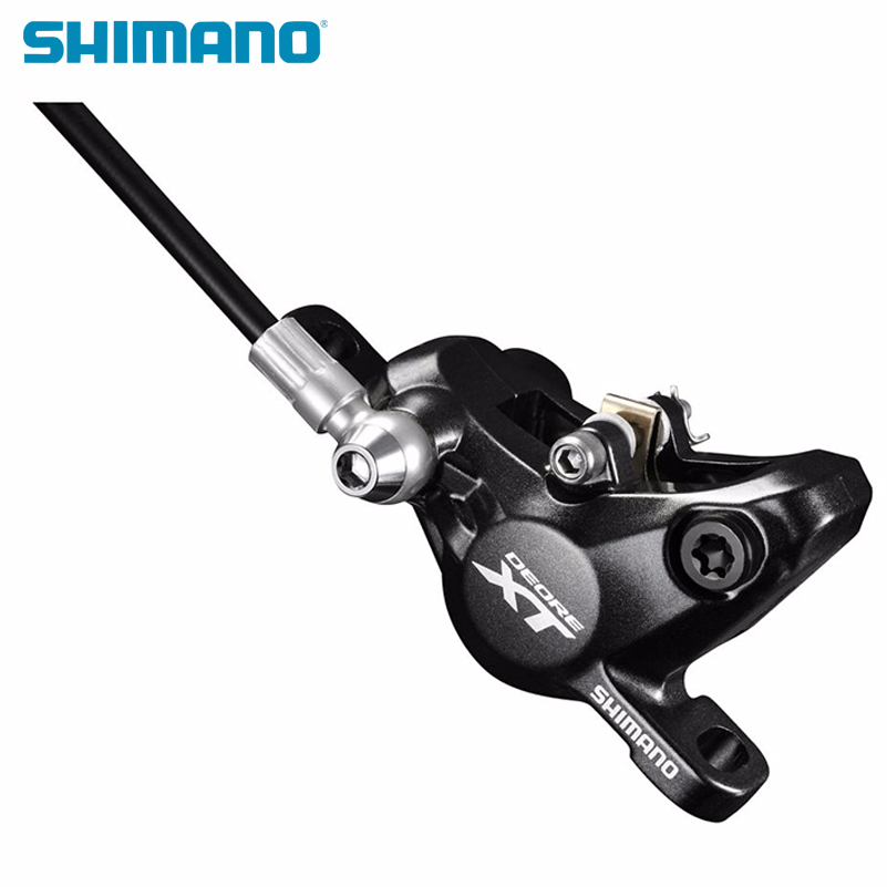 Frein à disque hydraulique SHIMANO DEORE XT M8000 avec plaquettes de ICE-TECH gauche et droite pour SM-BH90-SBM levier de frein et étrier de BL-BR-M8000 - 6