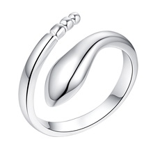 shiny beautiful bling Silver plated Ring Fashion Jewerly Ring Women Men PVDUDGFC WXNDJCON