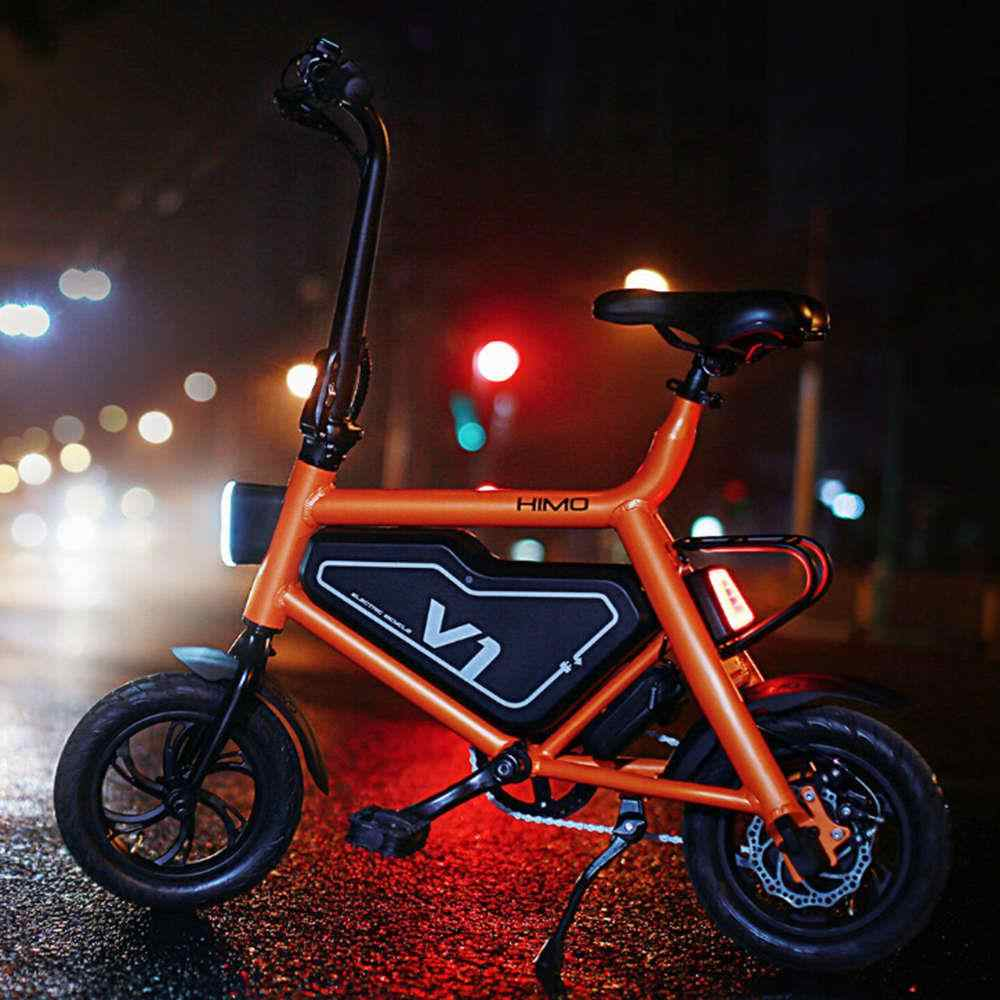 d3af4bae880 ... Original Xiaomi HIMO V1 Portable Folding Electric Assist Bicycle  Capacity 6AH Ergonomic Design Bike for adults ...