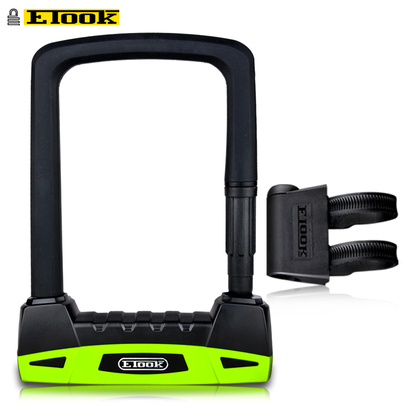 Etook Bike U-lock High End 20T Hydraulic Shear Resistant Lock Motorcycle Lock Convenient Lock Frame Bicycle AccessoriesEtook Bike U-lock High End 20T Hydraulic Shear Resistant Lock Motorcycle Lock Convenient Lock Frame Bicycle Accessories