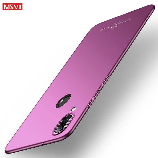Msvii bảo vệ coque Đối Với Huawei P30 P20 pro P8 P9 P10 lite cộng với trường hợp Cứng PC bìa Honor 8 9 người bạn đời 9 10 lite pro trường hợp điện thoại
