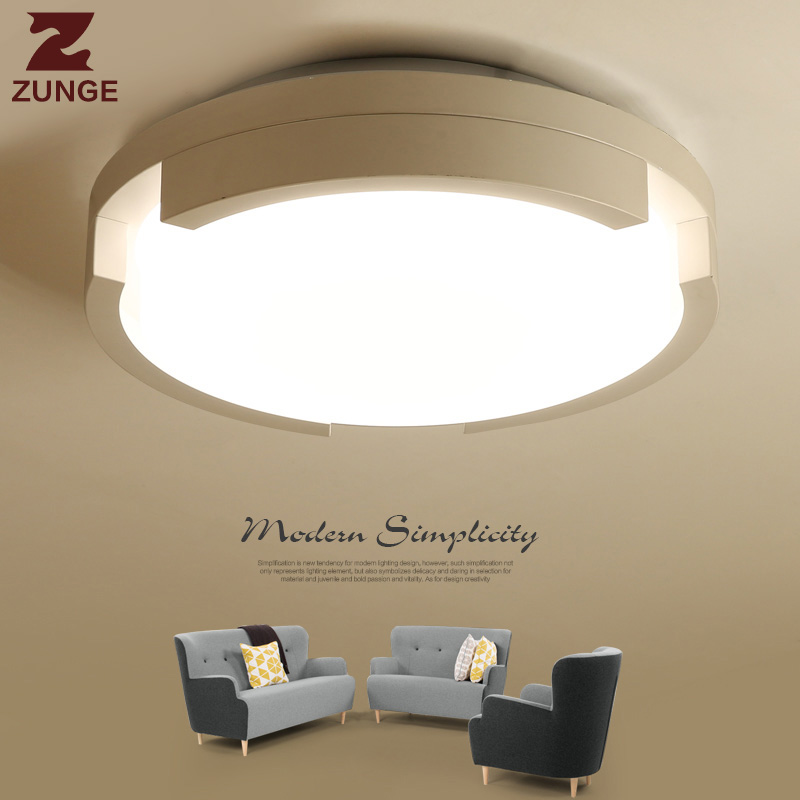 ZUNGE modern creative led ceiling ligh simple living room lights P438 romantic bedroom l ...