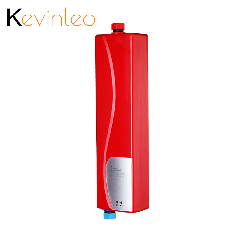 Electric Water Heater Instant Shower Tankless Water Heater For Home Kitchen Bathroom Water Heating водонагреватель Calentador De