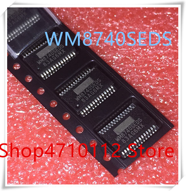 NEW 10PCS LOT WM8740SEDS RV WM8740SEDS WM8740 SSOP 28 IC
