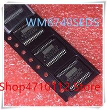 NEW 10PCS/LOT WM8740SEDS/RV WM8740SEDS WM8740 SSOP-28 IC