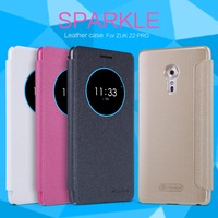 For Lenovo Zuk Z2 Pro Phone Cover Case NILLKIN Sparkle PU Leather Case Flip Cover With